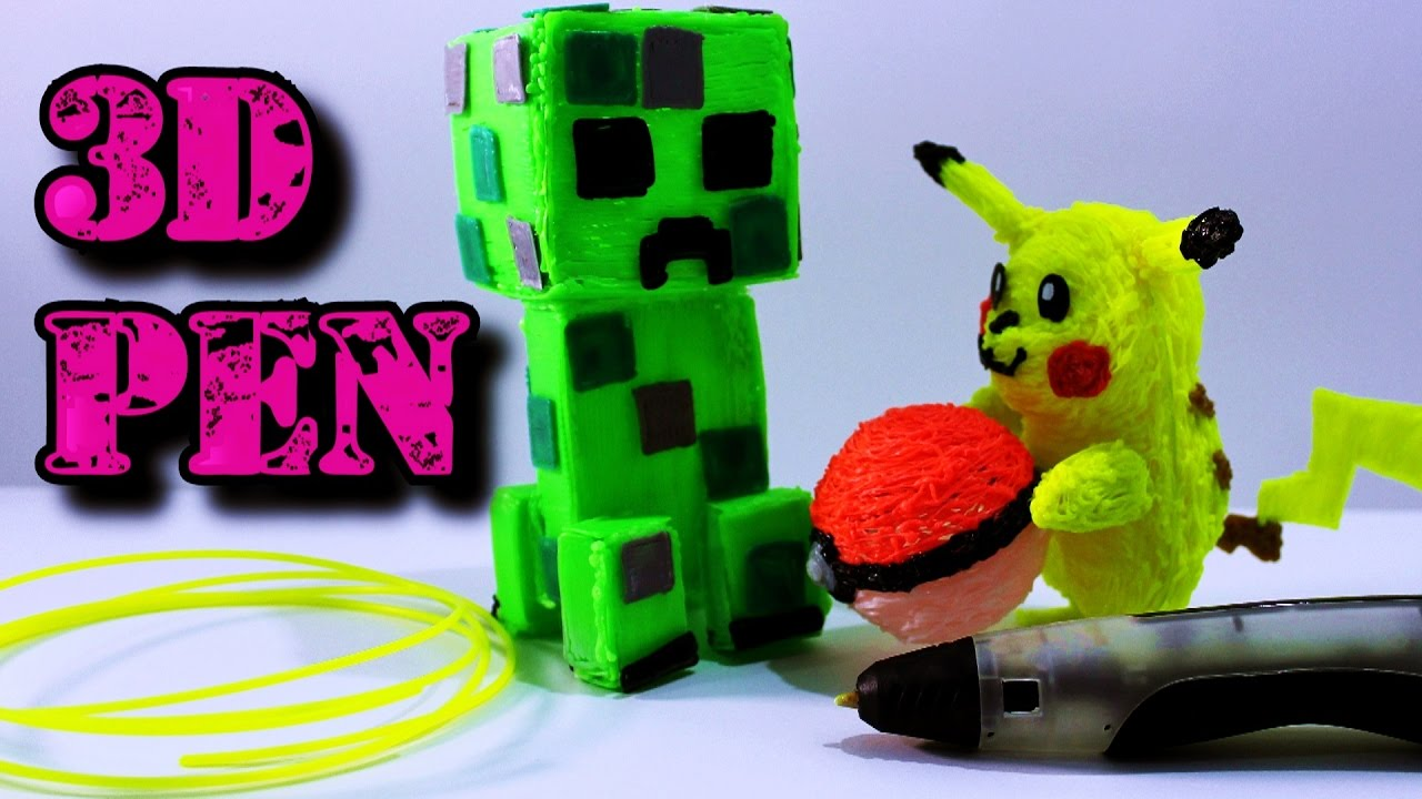 how to build a 3d pikachu in minecraft