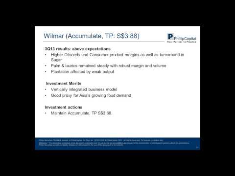 02 December 2013 - Weekly Market Webinar - Singapore Macro, Oil & Gas