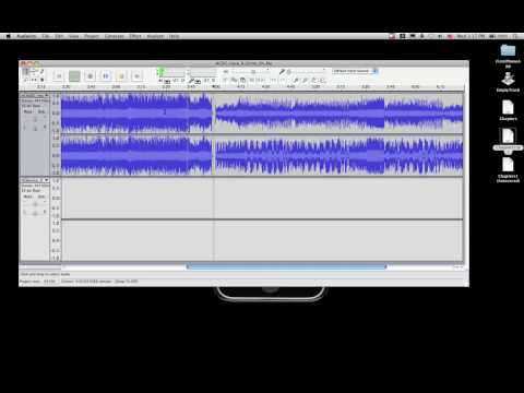 Audacity - Combine Audio Tracks
