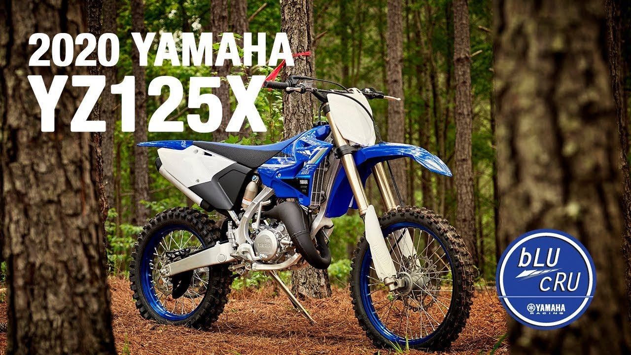 The All New 2020 Yamaha Yz125x