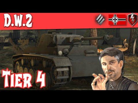 DW2 Full Tank Review Tier IV German Heavy ||WOT Blitz||
