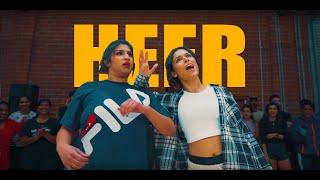HEER BHANGRA DANCE   Shivani Bhagwan and Chaya Kumar Choreography BhangraFunk