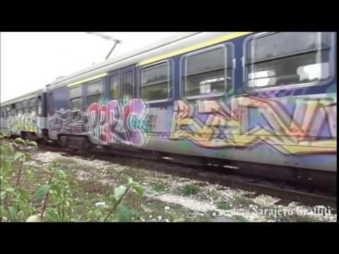Sarajevo Graffiti - Bombing trains and trams