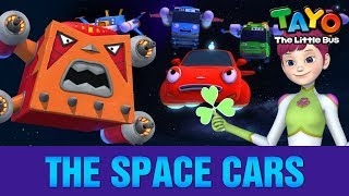 The Space Cars L Meet Tayo's Friends #8 L Tayo The Little Bus