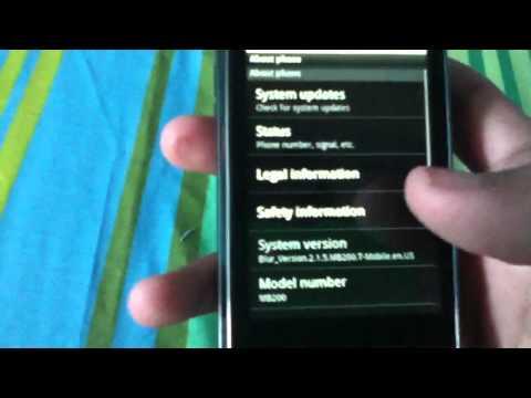 Motorola Cliq OFFICIAL Android 2.1