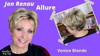 Jon Renau ALLURE Wig Review | 22F16S8 Venice Blonde | MONIKA'S BEAUTY & LIFESTYLE