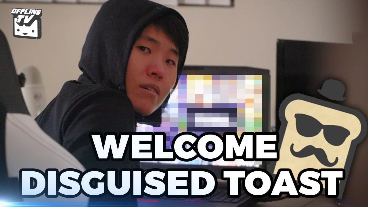 DISGUISED TOAST JOINS THE OFFLINE HOUSE! - YouTube  DISGUISED TOAST...