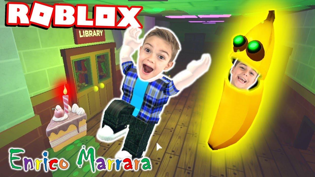 ROBLOX  - FUJA DA BANANA FAMINTA (Banana Eats) New Update