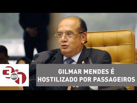 Gilmar Mendes é Hostilizado Por Passageiros Em Voo Comercial