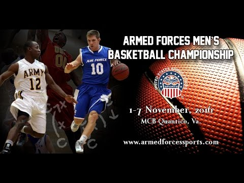 Game 11 - USMC vs Navy-2 Armed Forces Mens Basketball