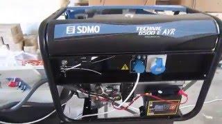 видео SDMO генераторы и электростанции, бензиновые и дизельные генераторы sdmo