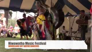 Woodland Sky Native Dancers: Hiawatha Music Festival