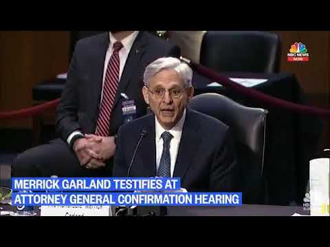 AG Nomination Merrick Garland Says Antifa Attacks on Federal Courthouse May Not Be Domestic Terror