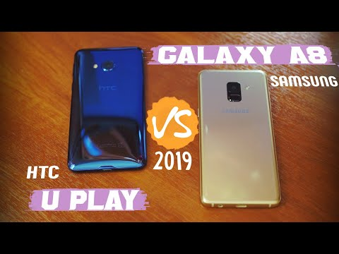 📱 Samsung Galaxy A8 (2018) — стоит ли покупать в 2019? Сравнение с HTC U Play