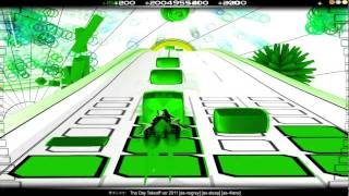 (Audiosurf) The Day Takeoff ver.2011 - 橋本みゆき - ninja mono with 4lane nogrey steep
