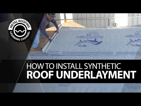 how-to-install-roofing-underlayment.-easy-dry-in-video-to-install-synthetic-roofing-underlayment.