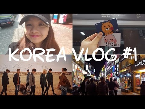 2017 KOREA VLOG #1 (BTOB KISS THE RADIO, ENTERTAINMENTS HOPPING, COMMONGROUND, KONKUK DISTRICT)