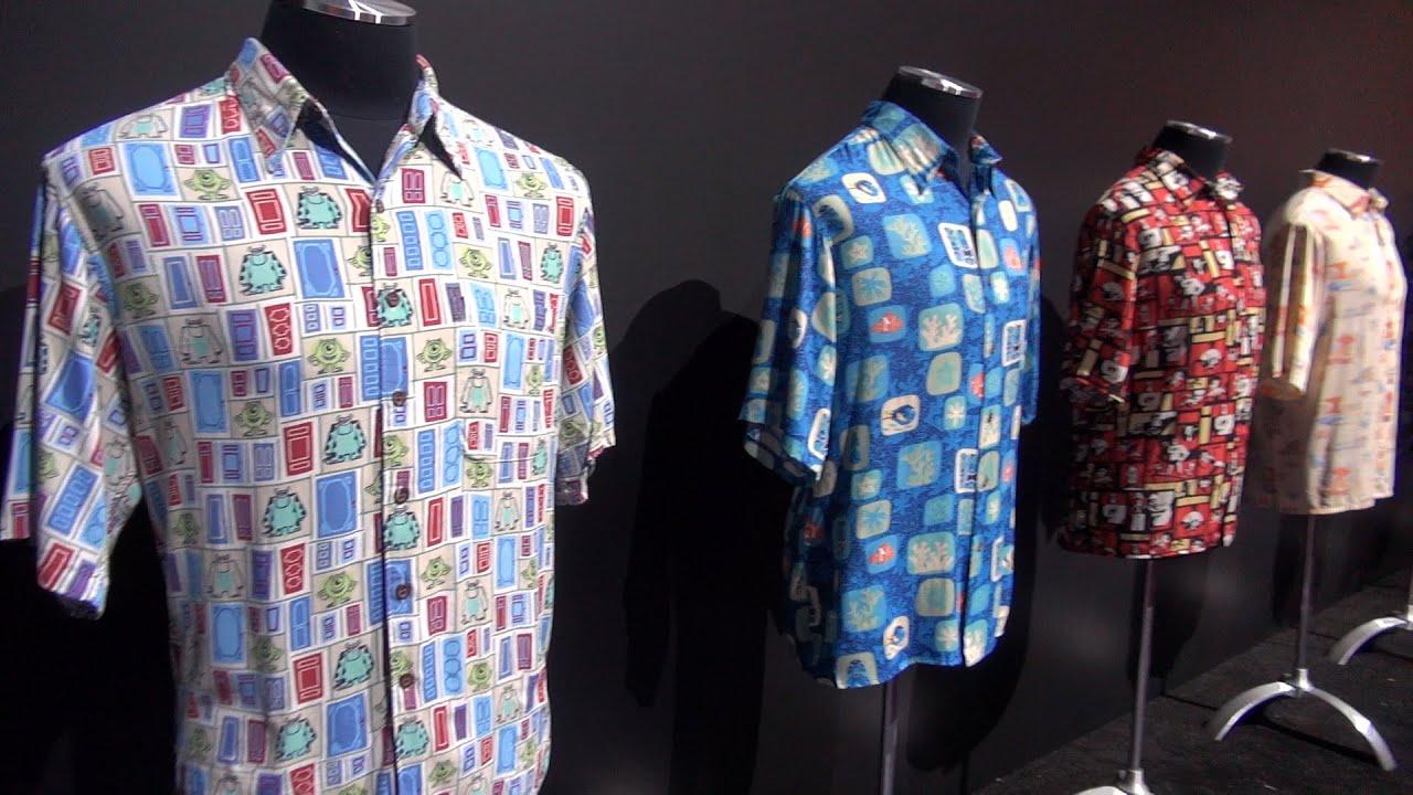 John lasseter 39 s hawaiian shirts at disney d23 expo 2015 for John lasseter disney shirts