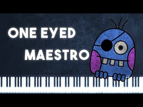 Synthesia [Piano Tutorial] One Eyed Maestro - Kevin Macleod