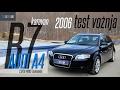 TEST AUDI A4 2.0TDI B7 2006 140KS  KARAVAN