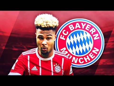 SERGE GNABRY - Welcome to Bayern - Deadly Skills, Runs & Goals - 2017 (HD)