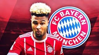 SERGE GNABRY - Welcome to Bayern - Deadly Skills, Runs & Goals - 2017 (HD)