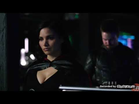 Arrow 6x16 Nyssa, Oliver talk about their marriage