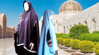 Cara Menjahit Jilbab Khimar Salimah Kids