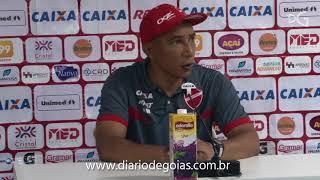 Técnico do Vila Nova lamenta empate com Goiás