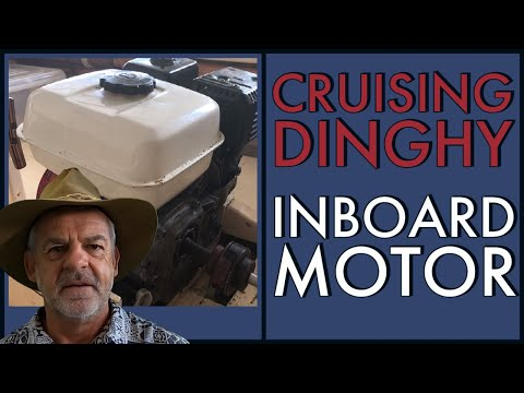 Inboard Motor in a cruising dinghy. Why Install an inboard?