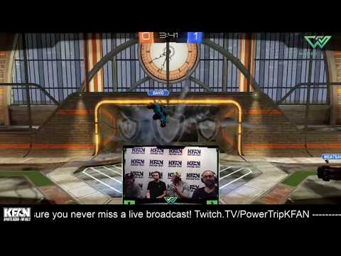 The Power Trip - HIGHLIGHTS: Vikings TE David Morgan plays Rocket League with The Power Trip