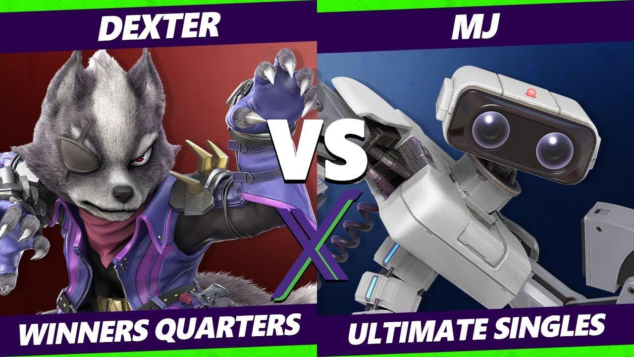 Smash Ultimate Tournament - Dexter (Wolf, Lucina)  Vs. Mj (Rob) - S@X 289 SSBU Winners Quarters