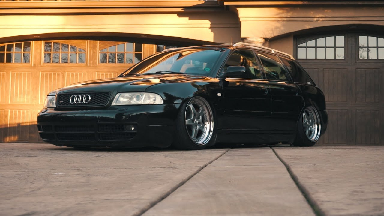jowbonez bagged audi s4 b5 avant wagon youtube. Black Bedroom Furniture Sets. Home Design Ideas