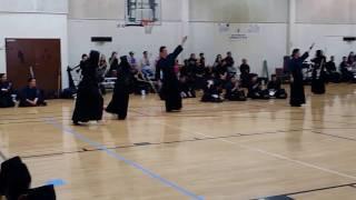 Kendo Women's Match2: US University Student vs Japan University Student