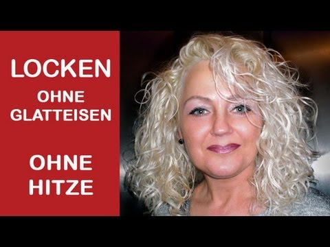 locken ohne glatteisen ohne hitze selber machen youtube. Black Bedroom Furniture Sets. Home Design Ideas