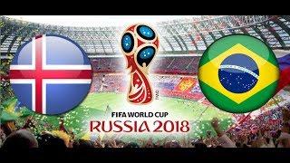 PÓŁFINAŁ TURNIEJ PANINI FIFA WORLD CUP RUSSIA 2018 ISLANDIA - BRAZYLIA