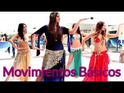 Danza árabe - Movimientos básicos | Antonina Canal