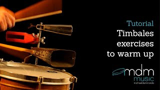 Timbales exercises to warm up
