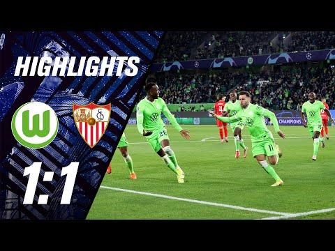 Wolfsburg Sevilla Goals And Highlights