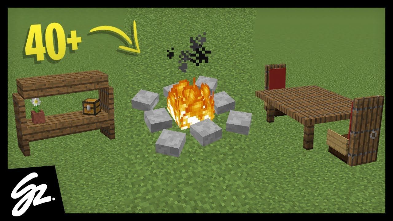40  Furniture Designs In Minecraft 1 13