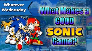 What Makes a GOOD Sonic Game?