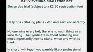 Professional Sports Betting Tips And Staking Plans