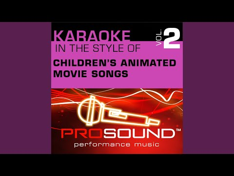 Rainbow Connection (Karaoke Instrumental Track) (In the style of Muppets)