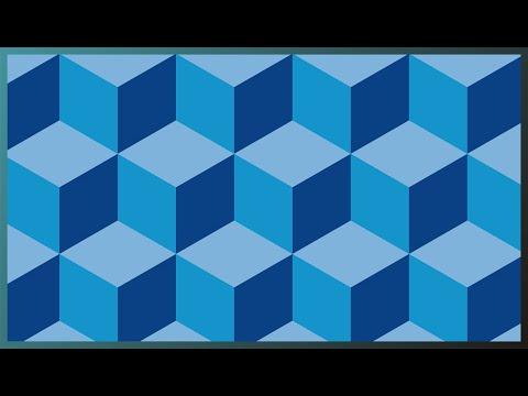 Belajar Cara Membuat Gambar Geometris Kubus 3d Dengan Cepat Dan Sangat Mudah By Syifaishol Channel