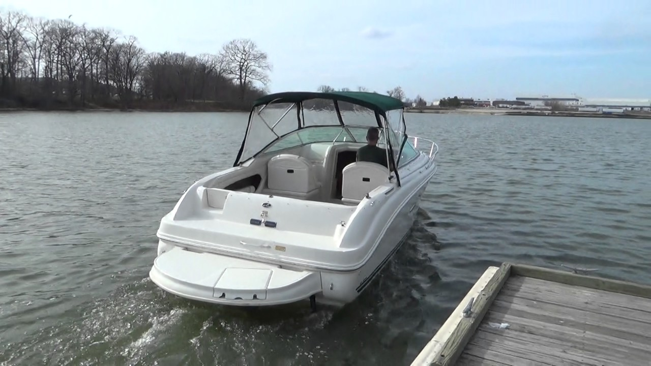 2003 225 Sea Ray Weekender