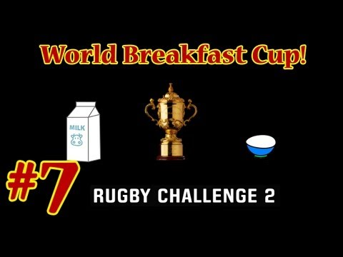 Rugby Challenge 2 - World Breakfast Cup - Semi Final - Ireland vs New Zealand