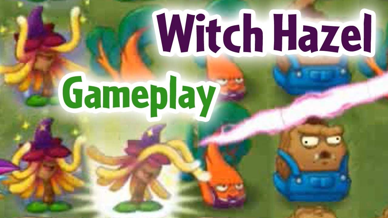 Plants Vs Zombies 2 Witch Hazel Gameplay New Plant In Action