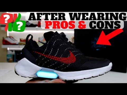 AFTER WEARING: NIKE HYPERADAPT 1.0 PROS & CONS!!