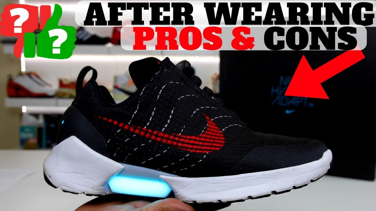 AFTER WEARING  NIKE HYPERADAPT 1.0 PROS   CONS!! - YouTube 51f10dee2