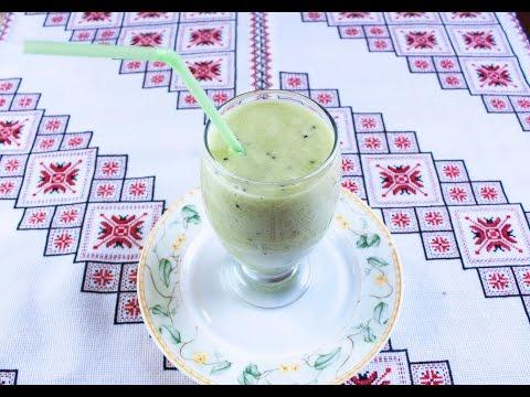 Рецепт смузи из шпината, бананов и киви в блендере BORK B800 от Константина Ивлева